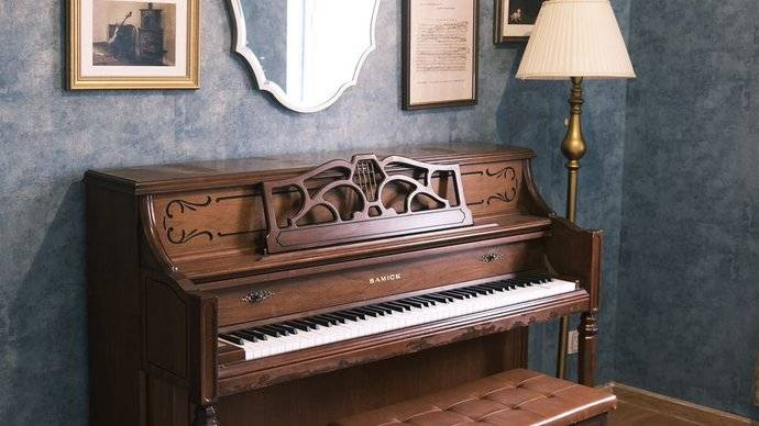 场地推荐💙钢琴复古棚/白兔糖写真馆