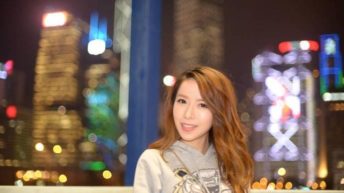 香港夜中環